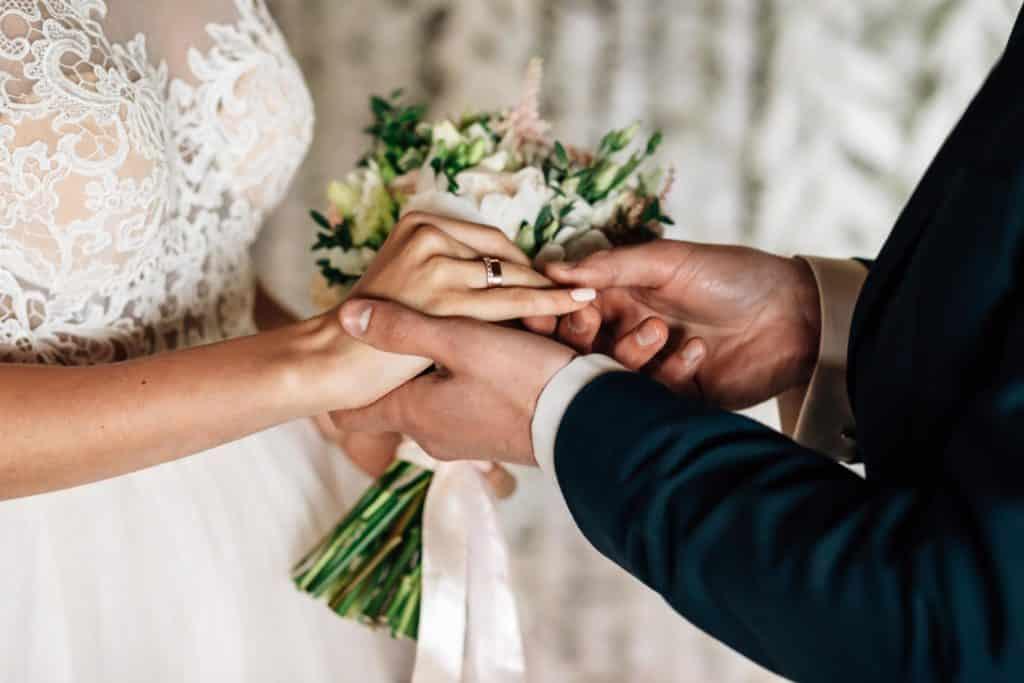 Scambio fedi Sposi