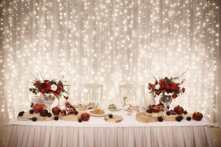 Allestimento Matrimonio invernale