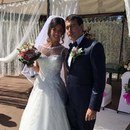 Elisa e Luca Sposi Matrimonio Low Cost Piemonte
