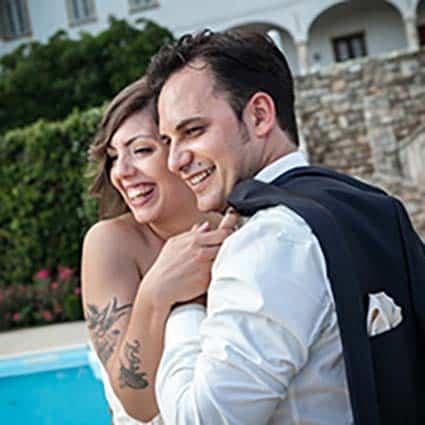 Sabrina e Lorenzo Elisa e Luca Sposi Matrimonio Low Cost Piemonte