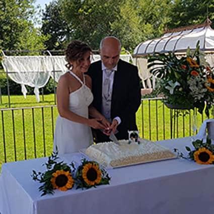 Ketty e Franco Sposi Matrimonio Low Cost Piemonte